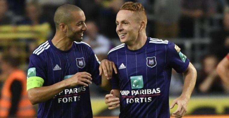 Populaire middenvelder uitgeroepen tot Speler van het Jaar bij Anderlecht