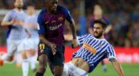 Imagen: ÚLTIMA HORA | Ousmane Dembélé pide el cambio y se marcha con una posible lesión