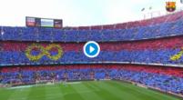 Imagen: El emocionante aspecto del Camp Nou para la despedida de Andrés Iniesta