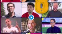 Imagen: VÍDEO | Las leyendas del fútbol se despiden de Iniesta: Buffon, Ramos, Totti...