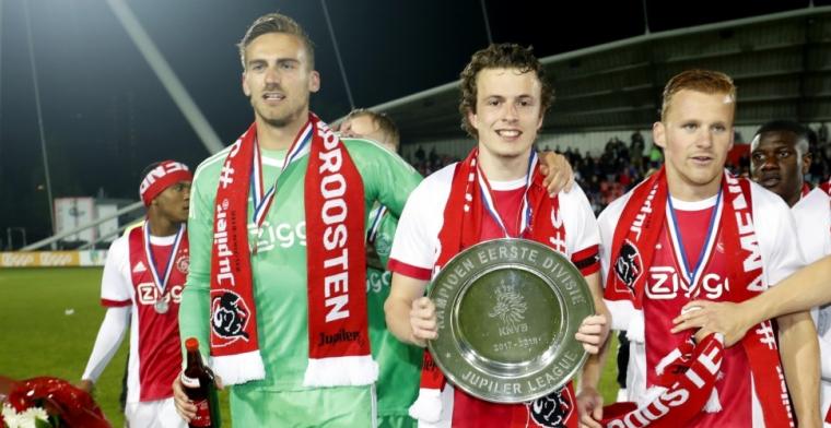 Ajax-doelman vertrekt na veertien jaar uit Amsterdam: 'Met een lach en een traan'