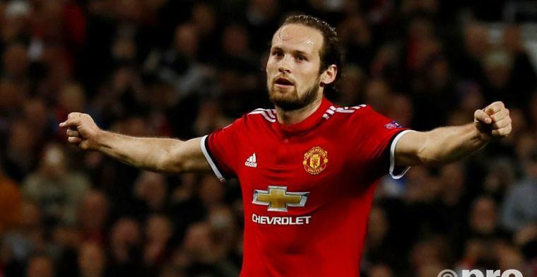 Blind is reserverol zat en denkt aan zomers vertrek bij Manchester United