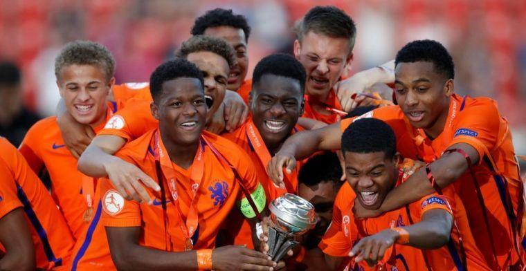 Penaltykoningen van Oranje O17: 'Volle druk erop. Als je mist, moet je sprinten'