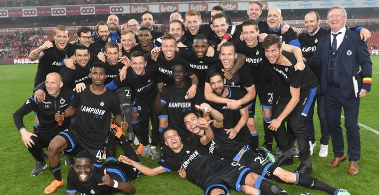 LIVE! Kijk rechtstreeks mee naar het kampioensfeest van Club Brugge