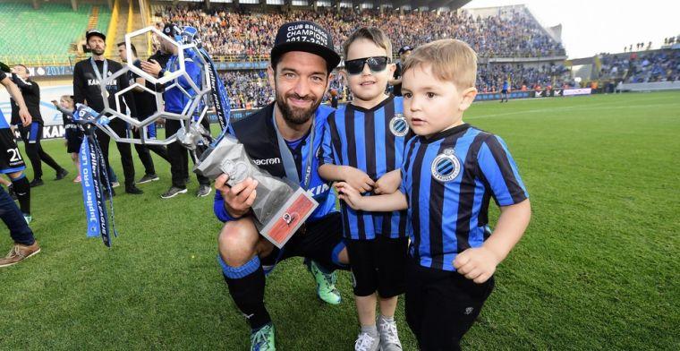 WTF! Club-speler moet eigen kinderen redden van supporters van Club Brugge