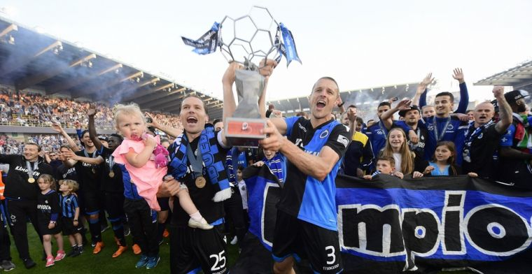 Simons sluit carrière bij Club Brugge af met emotionele speech in de kleedkamer