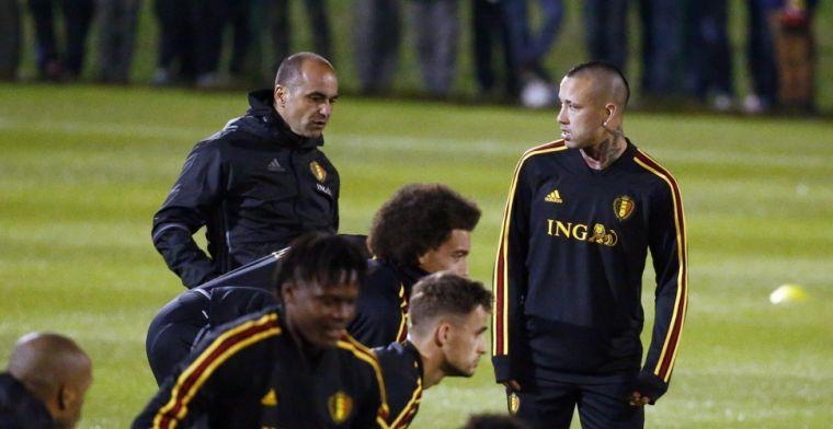 Kiest Martinez niet voor Nainggolan om deze reden? 'Dat maakt het nog erger'