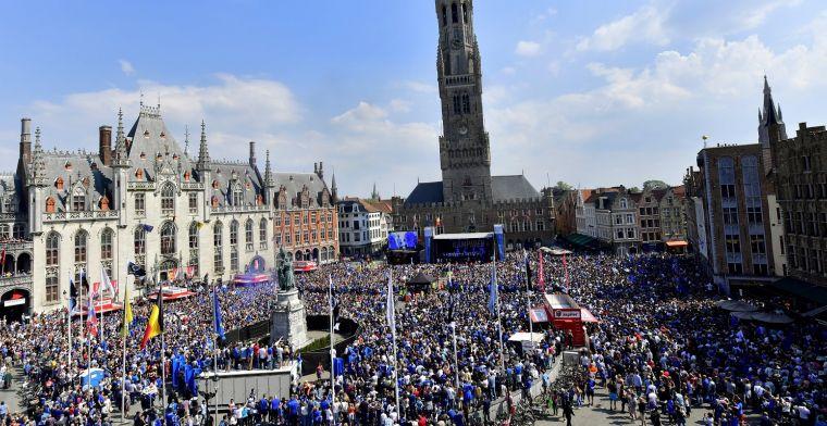 Kampioenenfeest eindigt in mineur voor negen Club Brugge-supporters