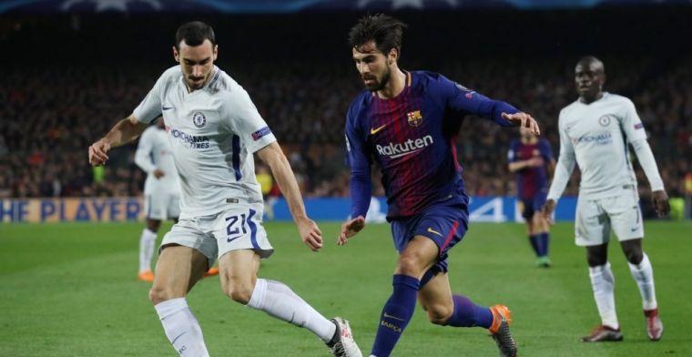 André Gomes y el gesto que desvela su futuro en el Camp Nou