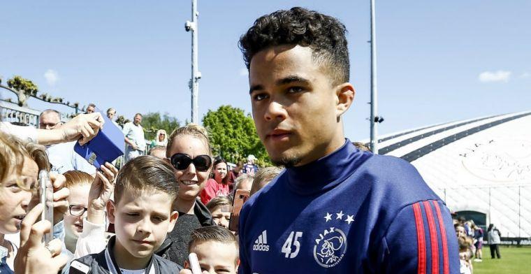 Driessen steunt vertrekwens Kluivert: 'Hij is de beste op de training van Ajax'