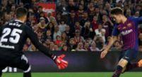 Imagen: Denis, en el momento clave de su carrera en el Barça