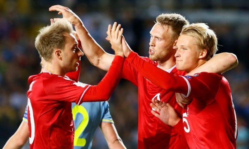 Afbeelding: Jörgensen kijkt naar concurrentie bij Ajax: 'Voor Dolberg anders dan normaal'