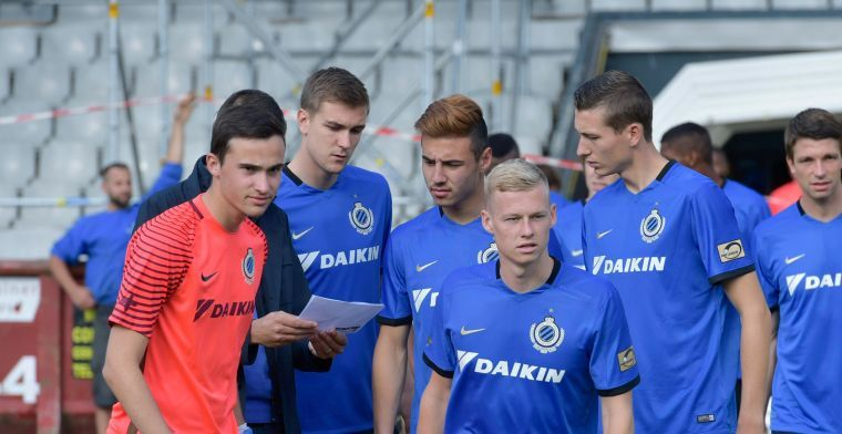 'Speler van Club Brugge springt tijdelijk in bij de Rode Duivels'