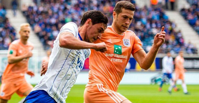 'Anderlecht maakt op één jaar tijd mooie winst door verkoop van Spajic'