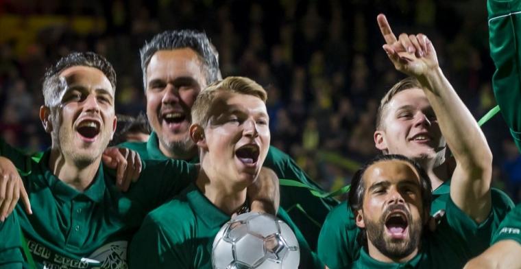 'Stiekem hopen ze hem nog een jaar te kunnen huren van Ajax. Die kans lijkt klein'