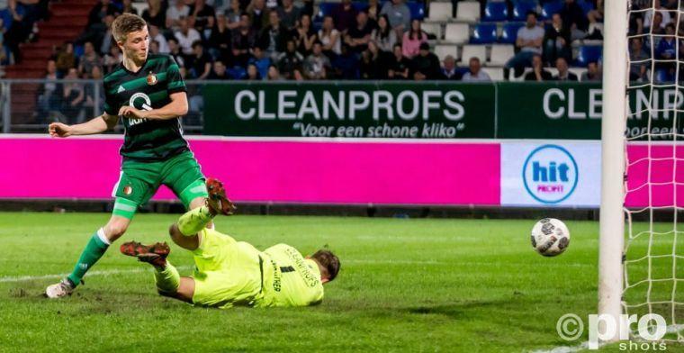 Vertrouwen in Feyenoorder: 'Behoort tot de beste spitsen in zijn leeftijdsklasse'