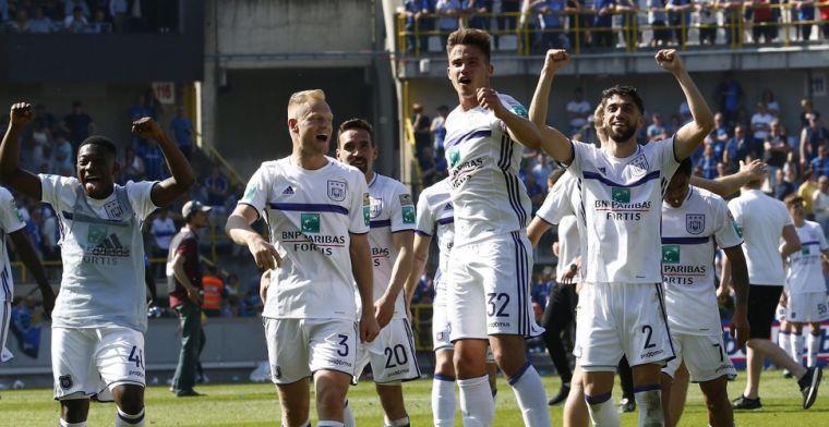 Anderlecht-sterkhouder op weg naar de uitgang: Hij gaat zeker vertrekken