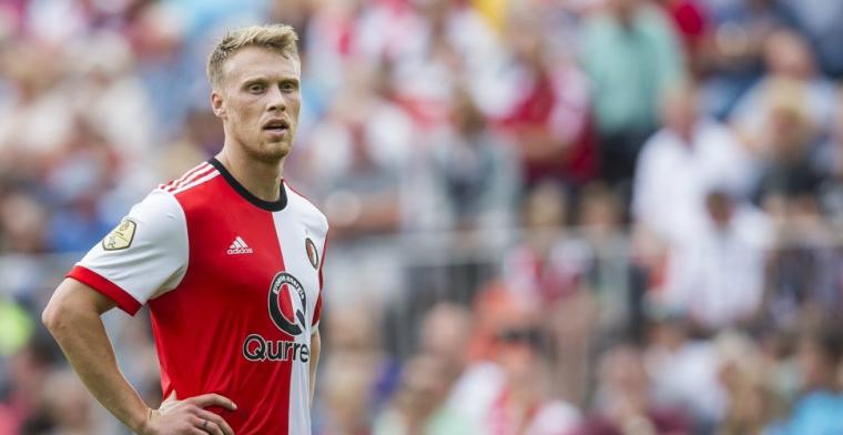 Jörgensen rekent op zomers vertrek bij Feyenoord: Ik wil graag verder