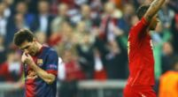 Imagen: El Bayern le dedica un homenaje a Leo Messi en el Allianz Arena