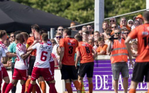 Katwijk houdt stand in Werkendam en houdt Buijs en Kozakken Boys van titel