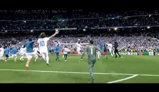 Kippenvelvideo uit Madrid: Real maakt fans lekker voor finale met fraaie beelden