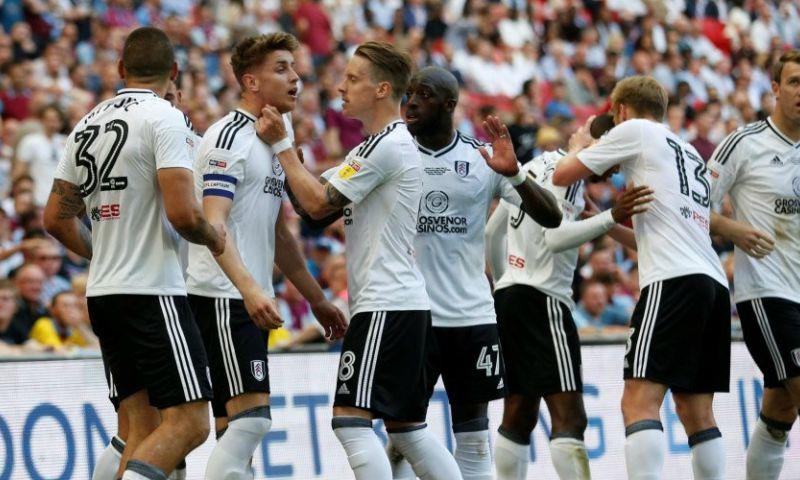 Afbeelding: Fulham promoveert, ondanks rood voor Odoi, naar de Premier League