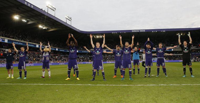 'Anderlecht kuist zijn kern uit, ook ervaren rot naar de uitgang'