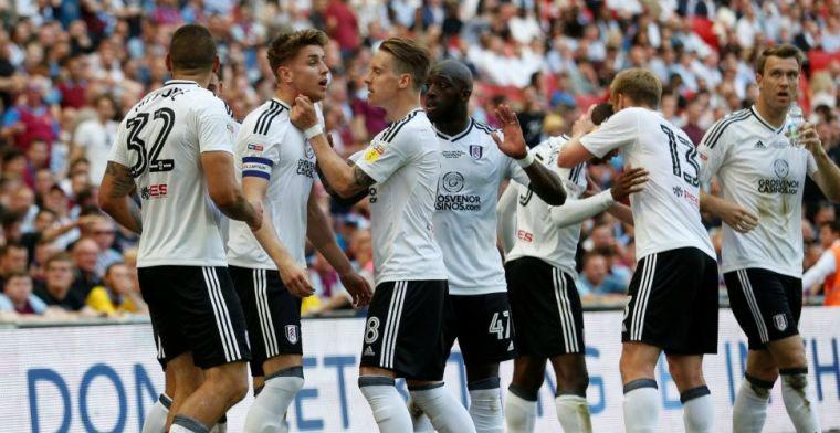 Fulham promoveert, ondanks rood voor Odoi, naar de Premier League