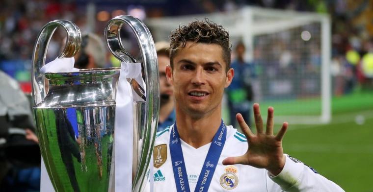 Ronaldo hint naar vertrek bij Real Madrid: Was erg mooi om bij Madrid te spelen