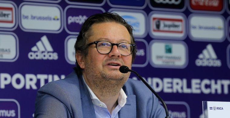 Coucke trekt aan alarmbel bij Anderlecht: Dat is véél te weinig