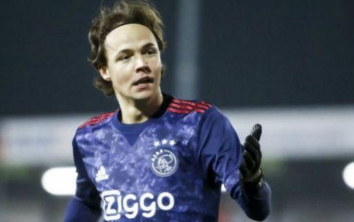 """Geblesseerd Ajax-talent vertrekt transfervrij: """"Ik voelde het wel aankomen"""""""