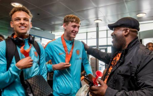 AZ-drietal in zevende hemel: 'Ingezonden filmpjes van Robben en Humberto Tan'