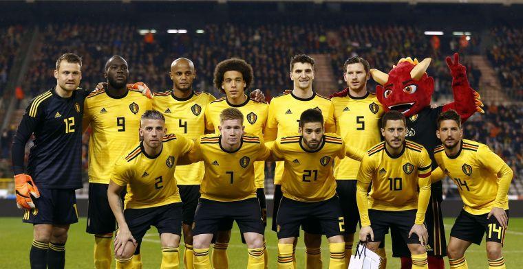 'Pech voor de fans, topattractie blijft achterwege bij België - Portugal'