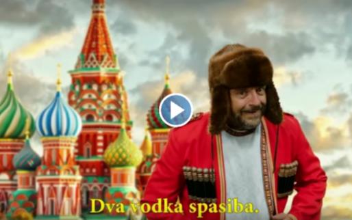 Zing niet langer Dos Cervezas por favor, maar voortaan 'Dva Vodka spasiba'