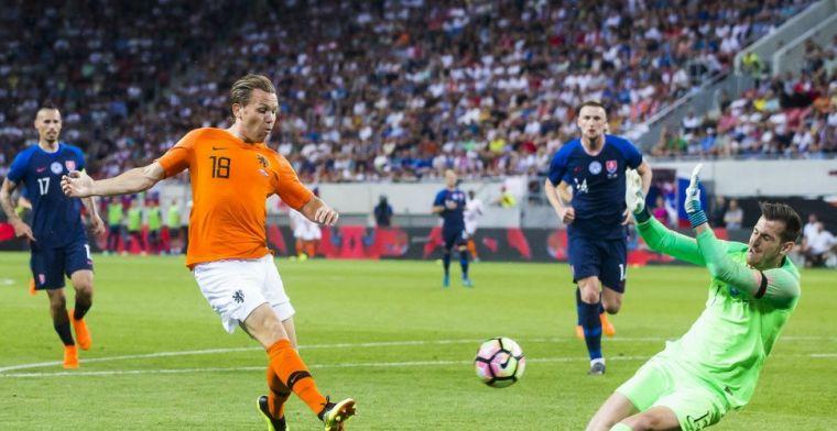 Vormer fleurt Oranje-debuut op met gelijkspel in en tegen Slowakije