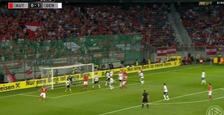 Zelfs Neuer is kansloos: Oostenrijker neemt corner ineens vól op de slof