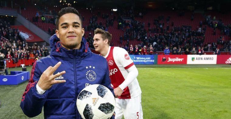 'Ajax en AS Roma nagenoeg akkoord over miljoenentransfer Kluivert'