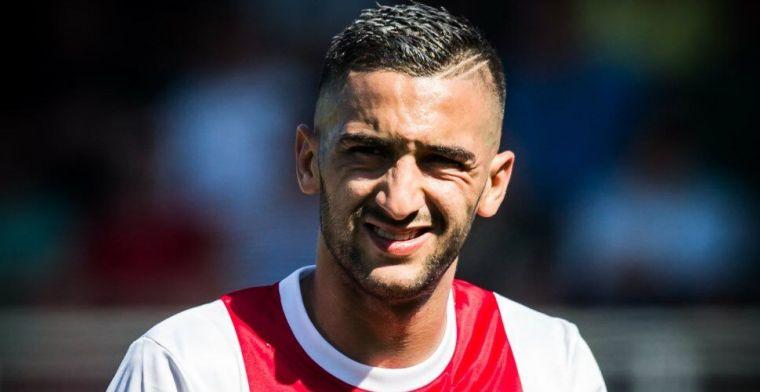 'AS Roma schrikt van vraagprijs Ajax voor Ziyech; Overmars ligt dwars'