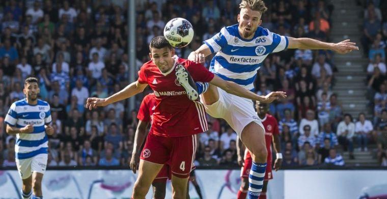 Feyenoord-verdediger vertrekt naar Jupiler League: 'Voel me hier op mijn plek'