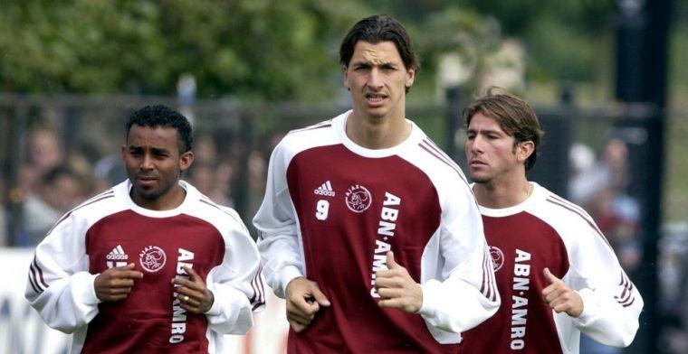 Oud-Ajacied over 'arrogante' Zlatan: 'Geef me de bal, ik ga alles kapot maken'