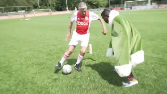 Swart vernedert Drenthe met panna: 'Niet eerste Feyenoorder die er eentje krijgt'