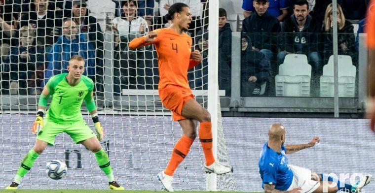 Van Dijk bekritiseerd door oud-hockeyer: 'Verkeerd signaal naar de Oranje-spelers'