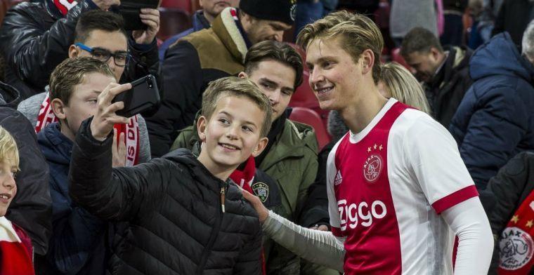 'FC Barcelona heeft driestappenplan om De Jong weg te kapen bij Ajax'