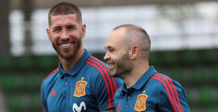 'Verdeeldheid binnen spelersgroep Spanje: spelers Real Madrid wisten meer'