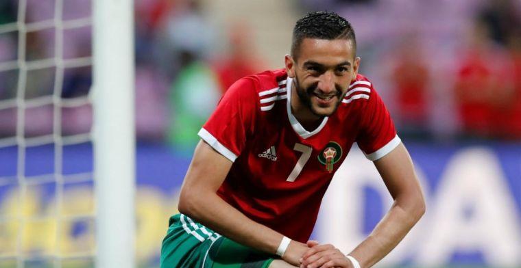 Misverstand rond Ziyech: 'Hakim serieus? Hij is juist de grappigste'