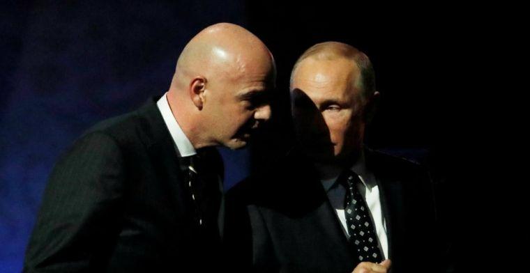 FIFA-voorzitter Infantino kondigt revolutie aan: 'Einde maken aan schimmige beeld'