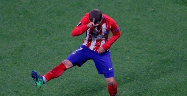 Griezmann ontwijkt vragen over transfer, Diego Costa neemt Griezmann-dansje over