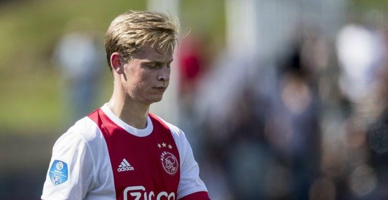 Mundo Deportivo: De Jong en De Ligt willen Kluivert volgen, dienen vertrekwens in