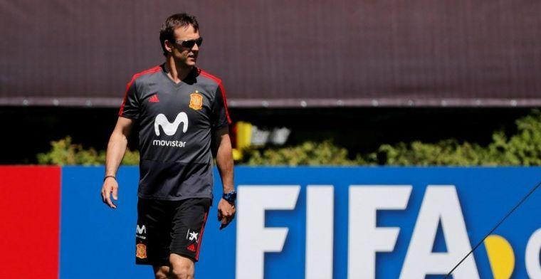 Update: 'Spaanse selectie gaat voor het ontslag van bondscoach Lopetegui liggen'