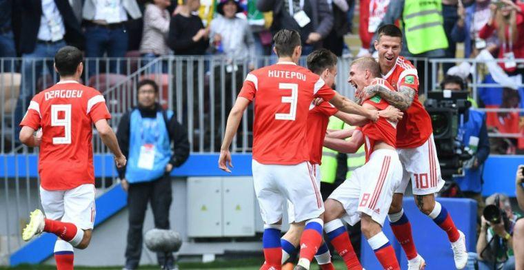 Perfecte WK-start Rusland: historische grote zege op pover Saudi-Arabië